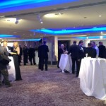 The reception at the National Fish and Chip Awards early in the evening | Photo: Charlotte Reid