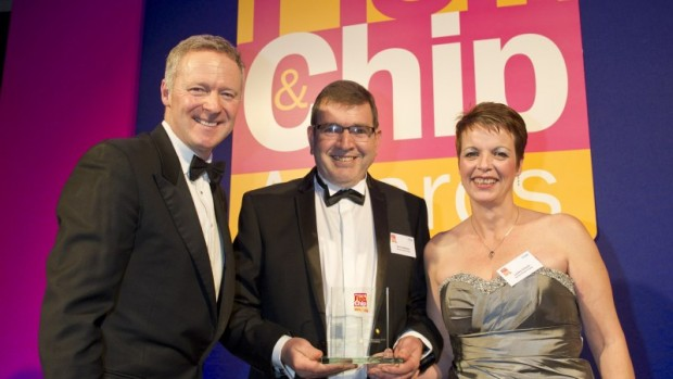 The Burton Road Chippy receive their East of England award | Photo: 3x1/Seafish