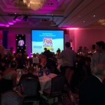 The award nominees sit down to dinner at the National Fish and Chip Awards | Photo: Charlotte Reid