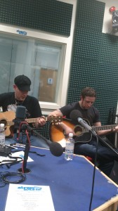 The Whiskey Syndicate playing for The Rock Train on Siren FM