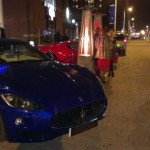 Expensive cars outside the Electric Bar | Photo: Charlotte Reid